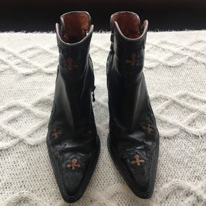 Donald J Pliner Western Collection Ankle Boots
